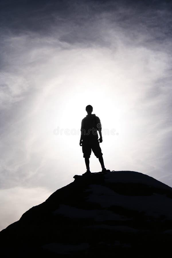 Epischer Held stockfotos
