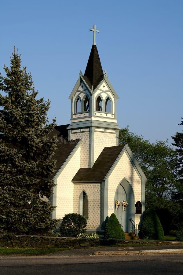 Free Episcopal Church, Middletown, RI Royalty Free Stock Image - 8538146