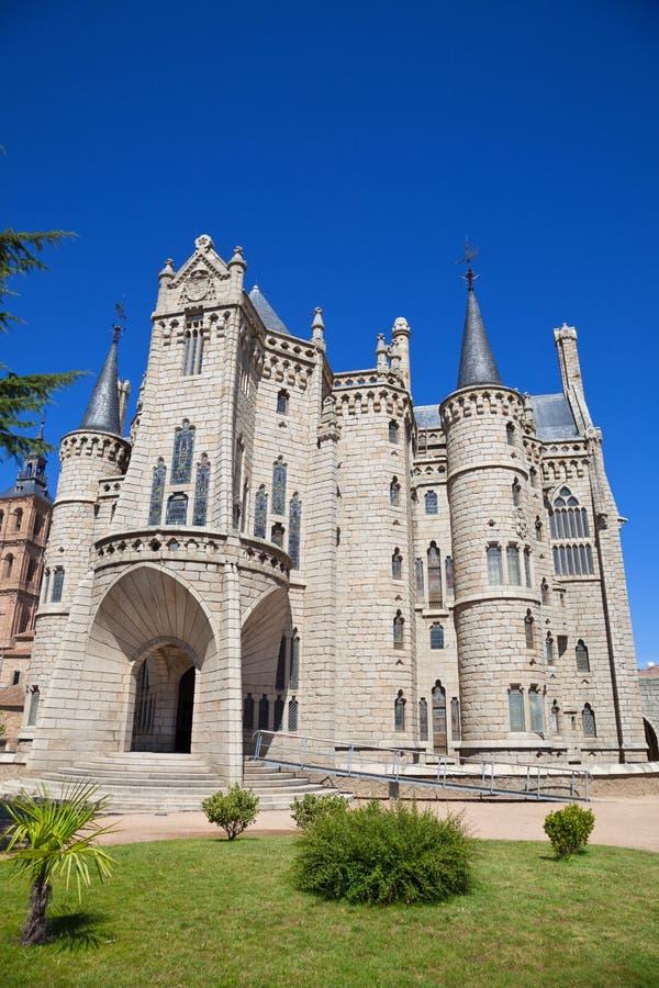 Download Episcopal Palace Of Astorga By Gaudi Stock Photo - Image: 18432834