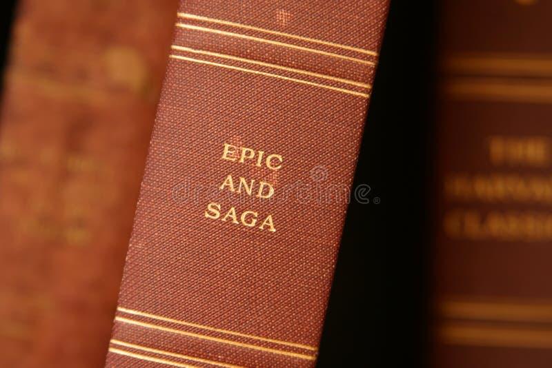 Epos und Saga stockfoto