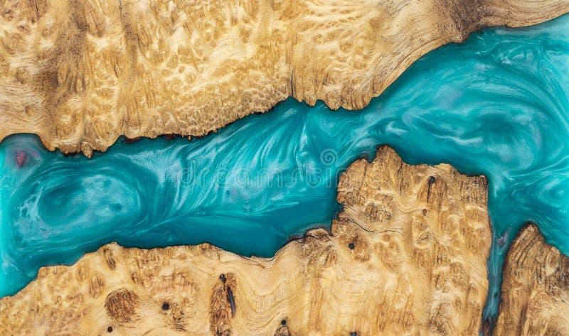 epoxy ?ywica Stabilizuje Afzelia burl egzotycznego drewnianego czerwonego t?o, Abstrakcjonistycznej sztuki obrazka fotografia obrazy royalty free