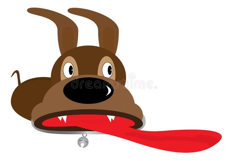 eps σκυλιών έκπληξη διανυσματική απεικόνιση