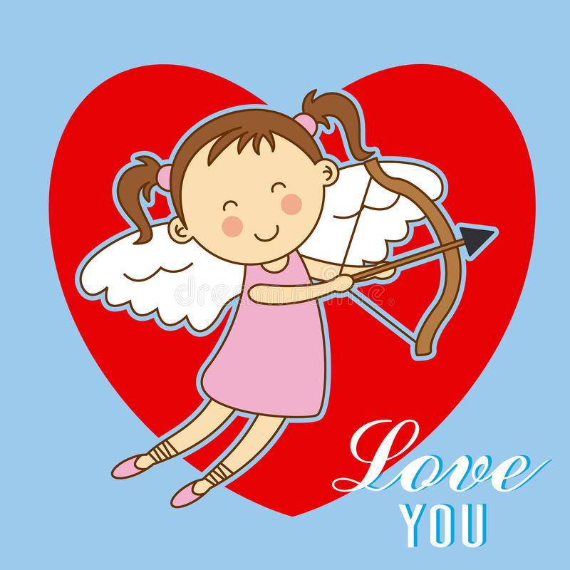 eps σχεδίου 8 καρτών συμπεριλαμβανόμενος αρχείο γάμος βαλεντίνων αγάπης απεικόνιση αποθεμάτων