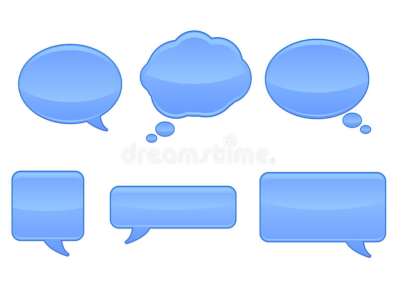 eps φυσαλίδων ομιλία εικο&nu απεικόνιση αποθεμάτων