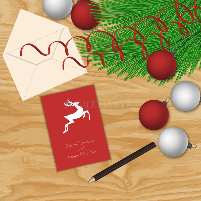 eps Χριστουγέννων 8 ανασκόπησης συμπεριλαμβανόμενο αρχείο διάνυσμα στοκ εικόνες με δικαίωμα ελεύθερης χρήσης
