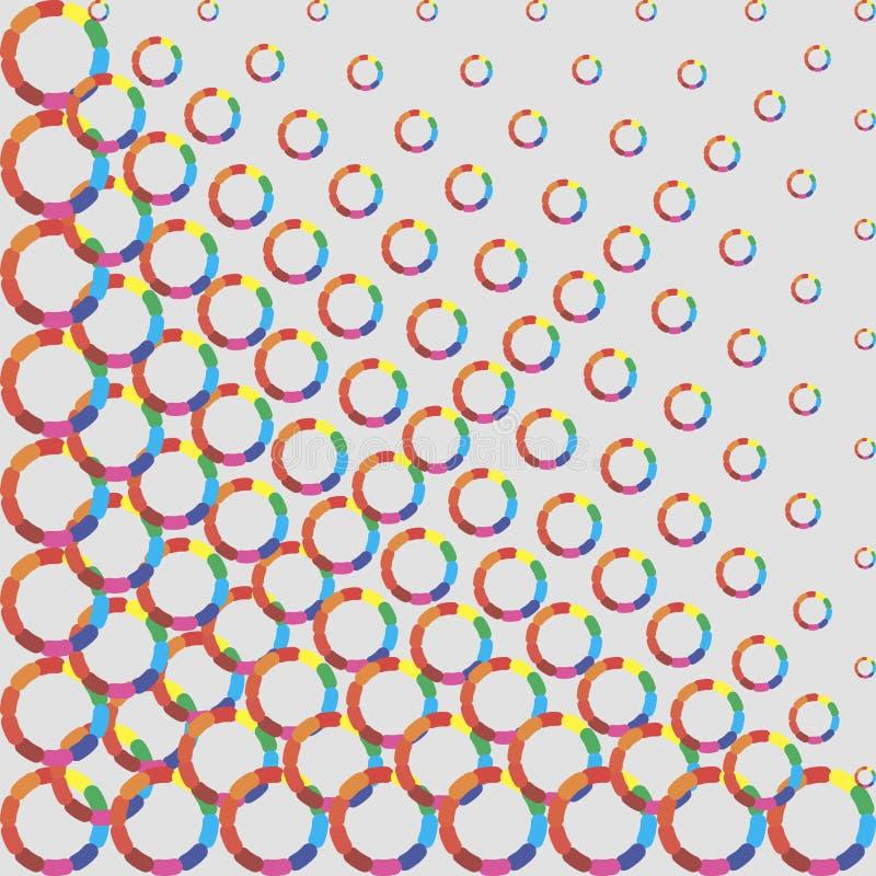 eps 10 χρώματος ημίτονο συμπεριλαμβανόμενο διάνυσμα αρχείων ελεύθερη απεικόνιση δικαιώματος