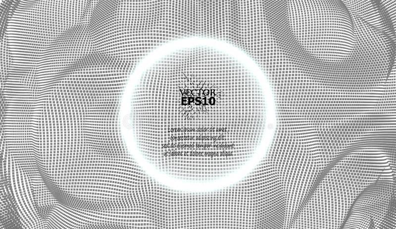 EPS10 包括圈子的传染媒介例证 您的事务的被加点的梯度设计 创造性的几何背景 向量例证