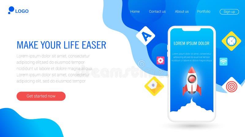 Дизайны шаблона вебсайта 10 eps бесплатная иллюстрация