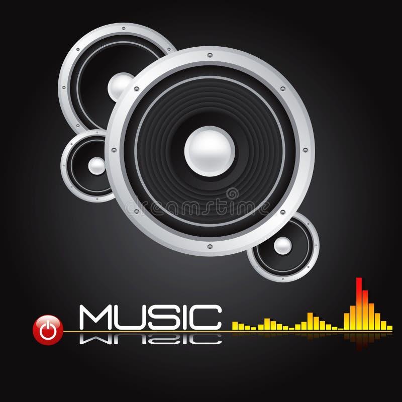 eps fi głośnikowy stereo wektor cześć ilustracji