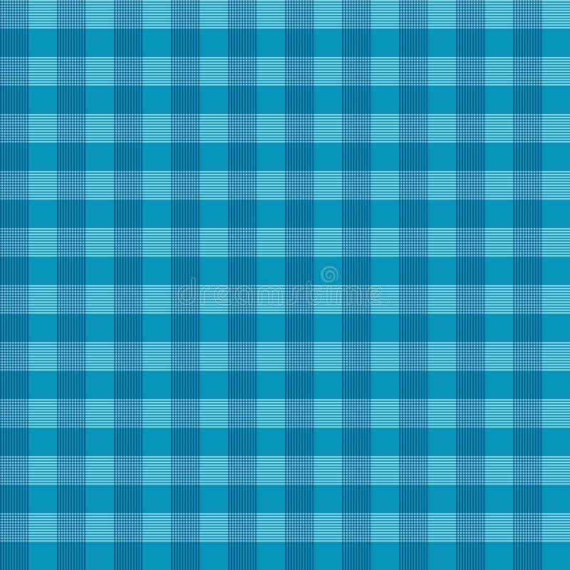 EPS+JPG, Blauw Tafelkleed vector illustratie