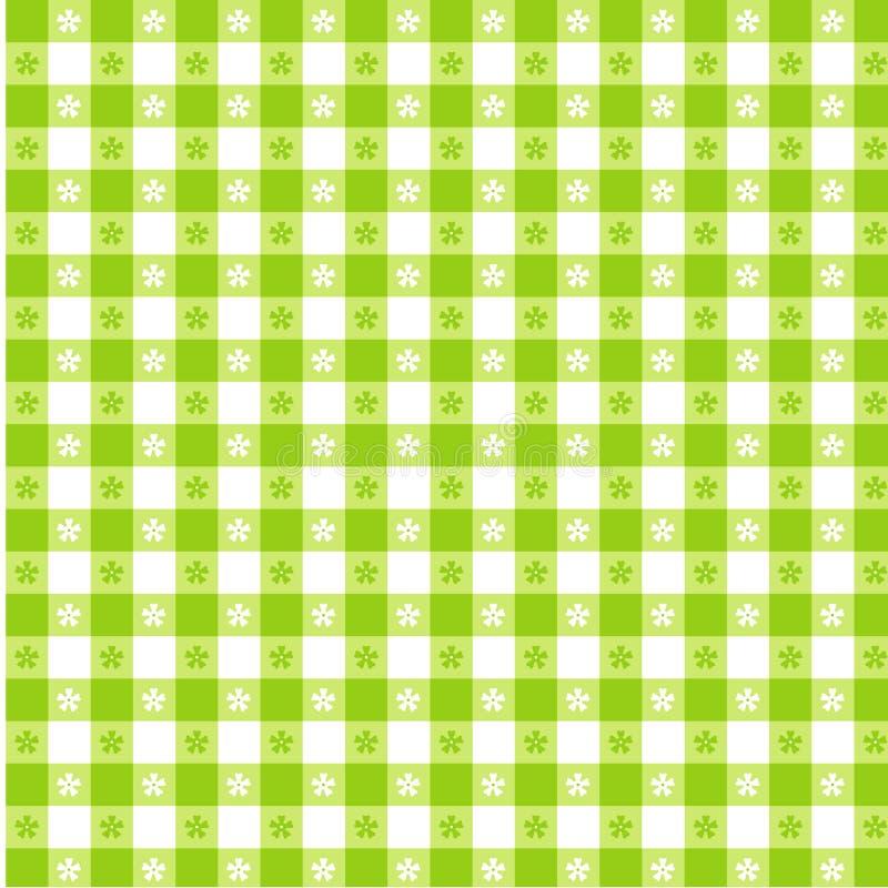 EPS+JPG, het Groene Tafelkleed van de Kalk vector illustratie