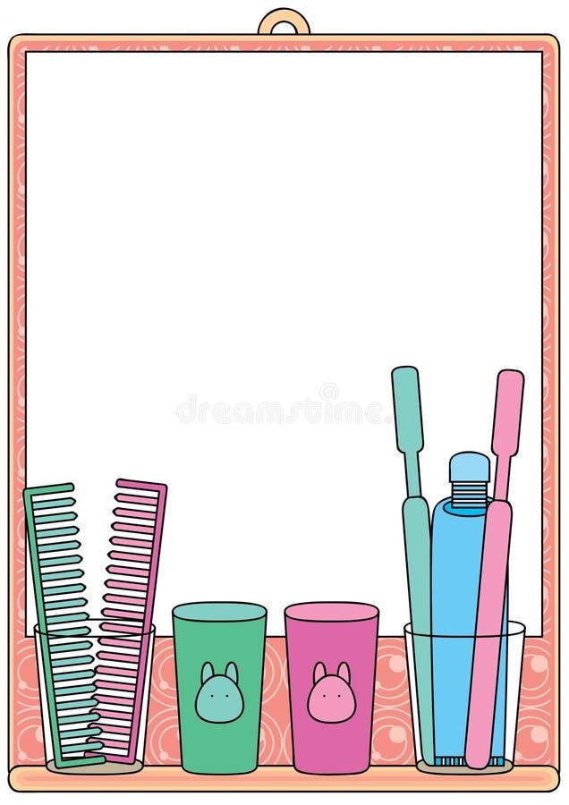 eps lustra przestrzeń ilustracji