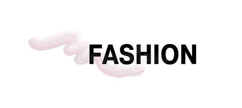 eps mody ilustracja zawrzeć znaka wektor Różowy nafciany rozmaz również zwrócić corel ilustracji wektora royalty ilustracja