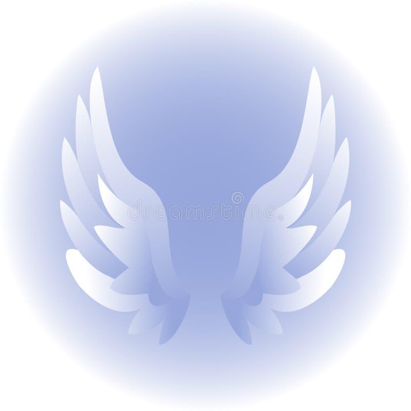 eps skrzydła anioła royalty ilustracja