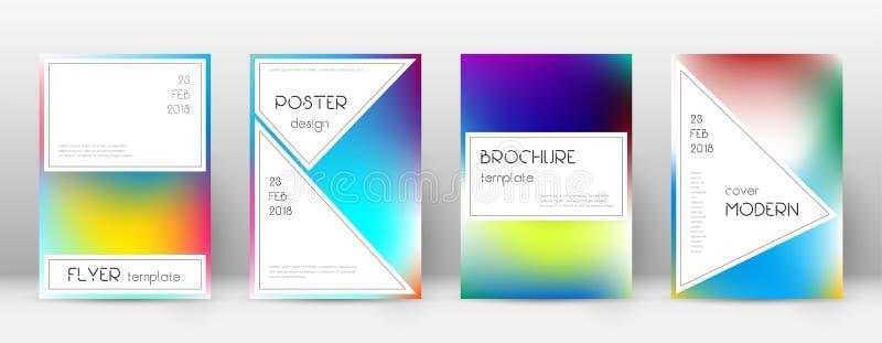 EPS 10 Stilfull behagfull mall för Brochu royaltyfri illustrationer