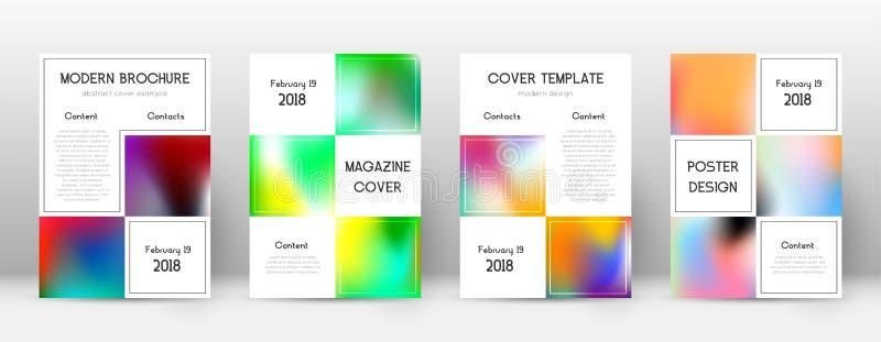 EPS 10 Stor mall för affär för broschyr royaltyfri illustrationer