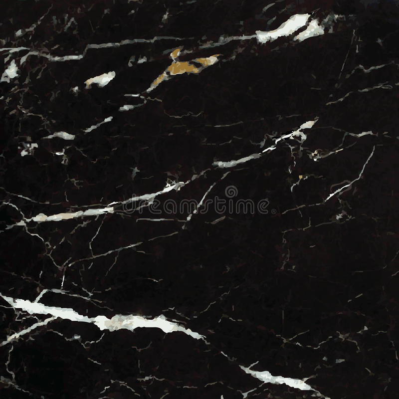 +EPS zwart Marmer stock illustratie