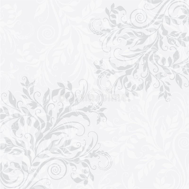 EPS10 decoratieve bloemenachtergrond stock illustratie