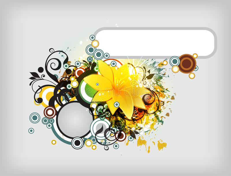 Download Eps10 Floral vector stock vector. Image of flower, popular - 23614396