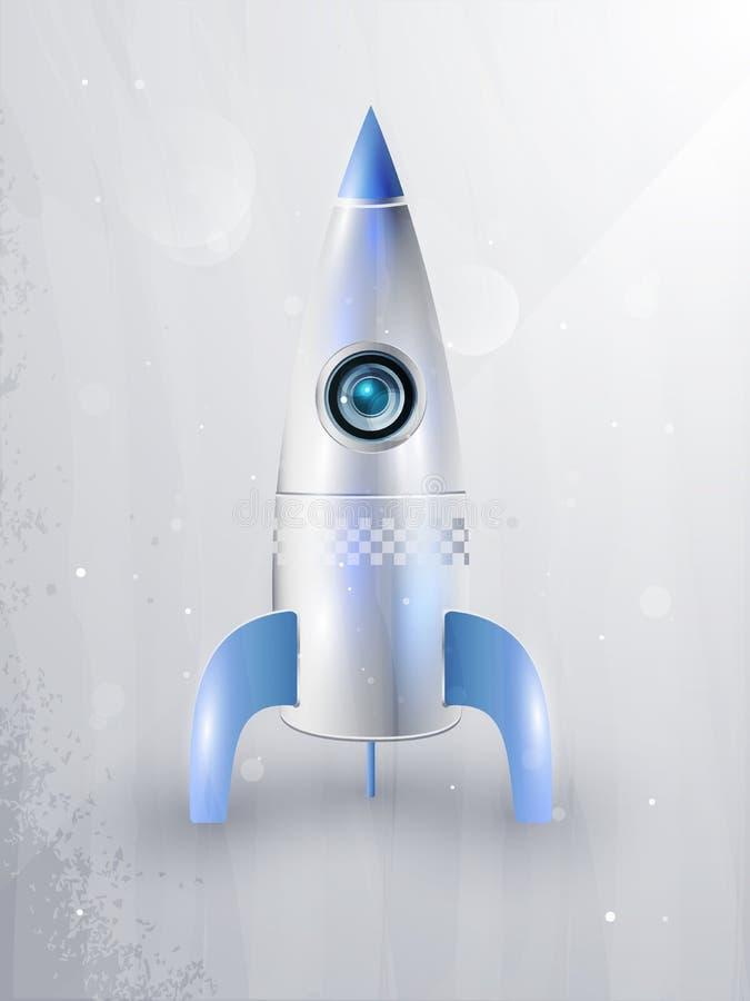 eps10 lota ikony rakiet przestrzeń royalty ilustracja