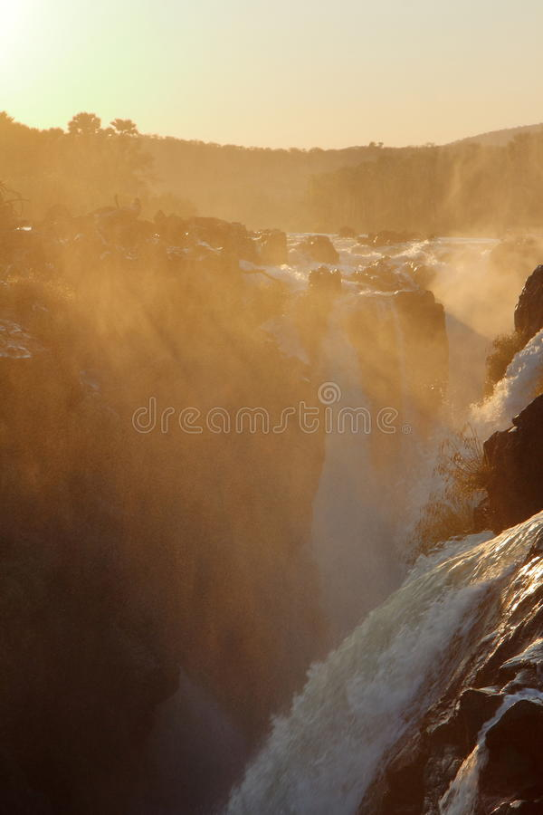 Epupa Falls royalty-vrije stock afbeelding
