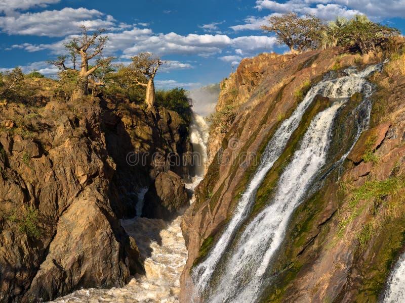 Epupa Falls.jpg royalty-vrije stock foto's