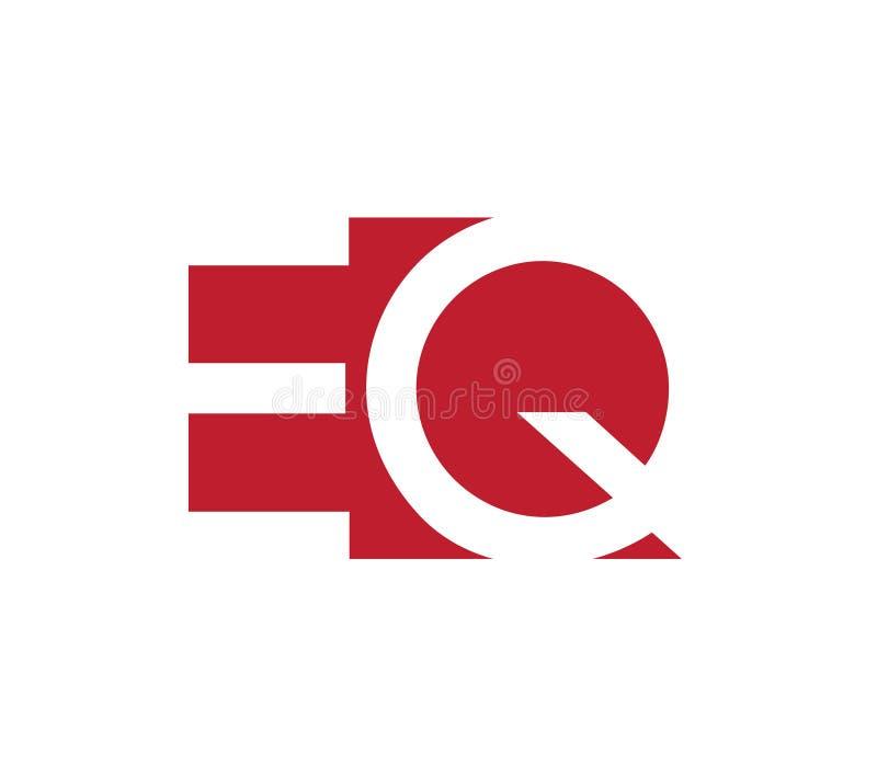 Download EQ Logo Concept Design stock illustration. Image of flat - 83705419