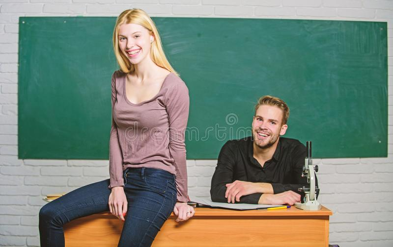 Equal rights and liberties. Man and woman study university. Right education. Mentorship and educational programs. Education bring opportunity better life stock photo