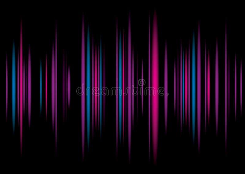 Equaliser purple background