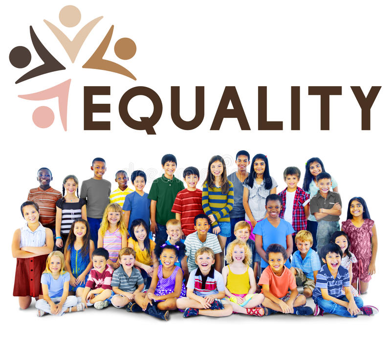 Equality Fairness Fundamental Rights Racist Discrimination Concept royalty free stock photography