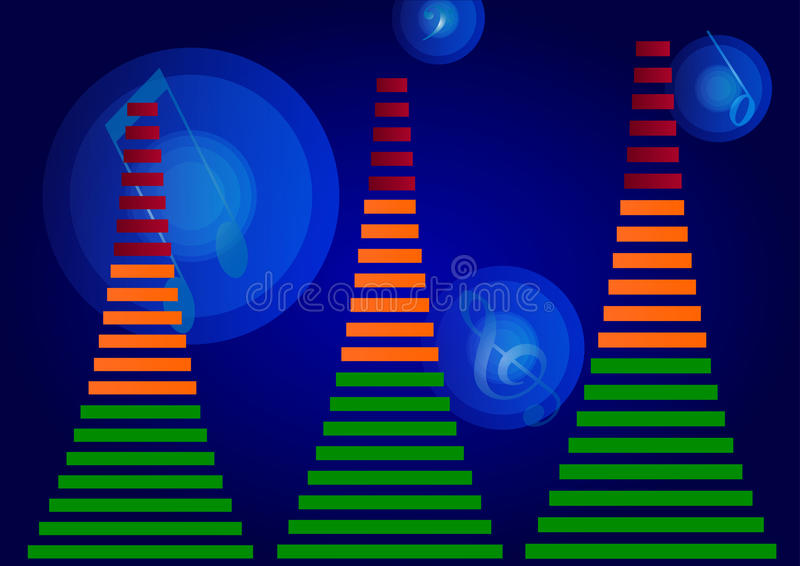 Equalizador audio libre illustration