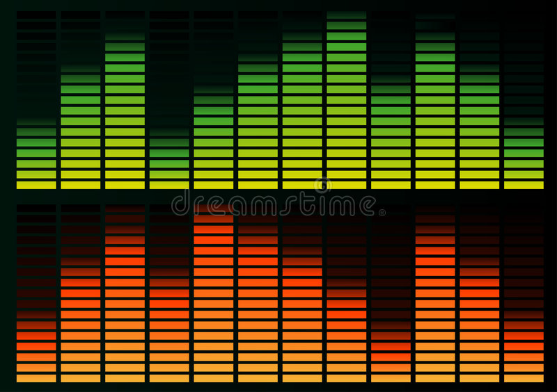 Download Equalizer stock vector. Image of equaliser, play, entertainment - 5187470