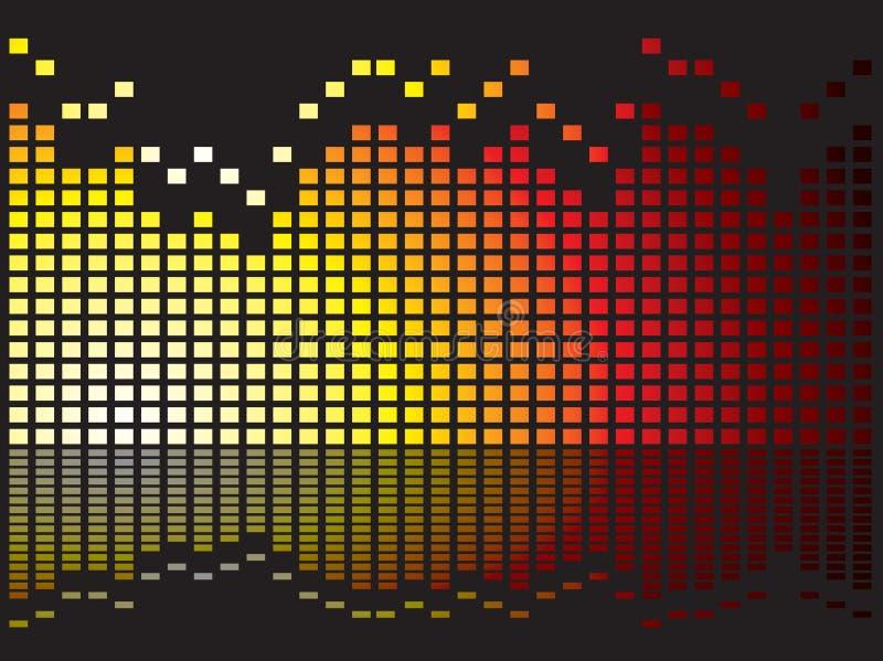 Download Equalizer burn stock illustration. Image of reflect, backdrop - 6120565
