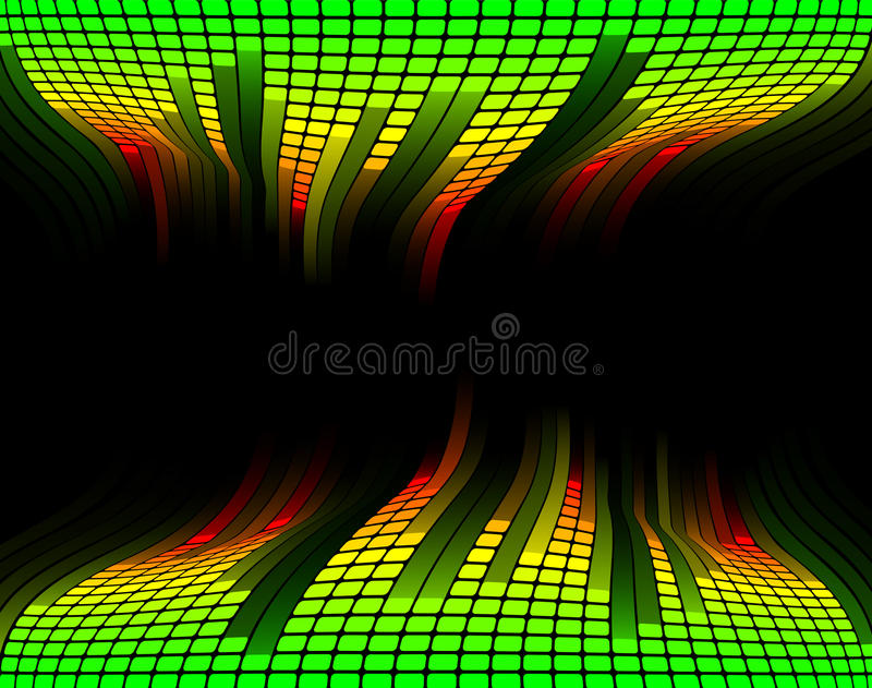 Download Equalizer music background stock vector. Image of display - 19883280