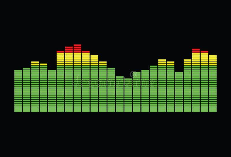 Equalizer spectrum 1 royalty free stock photos