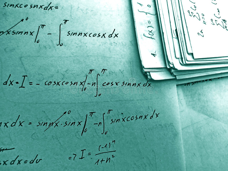 Equations Royalty Free Stock Image