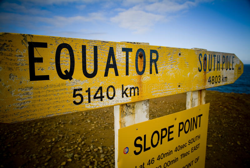 Equatore fotografie stock libere da diritti