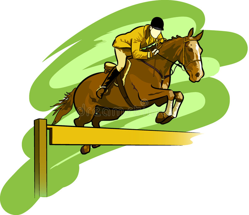 equestrian ilustracji