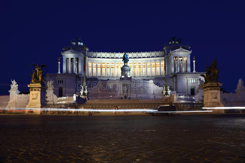 Download Equestrian Monument To Victor Emmanuel II Stock Photo - Image: 18595600
