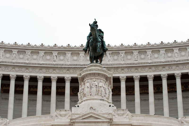 Download Equestrian Monument To Victor Emmanuel II Rome, It Stock Photo - Image: 21550024