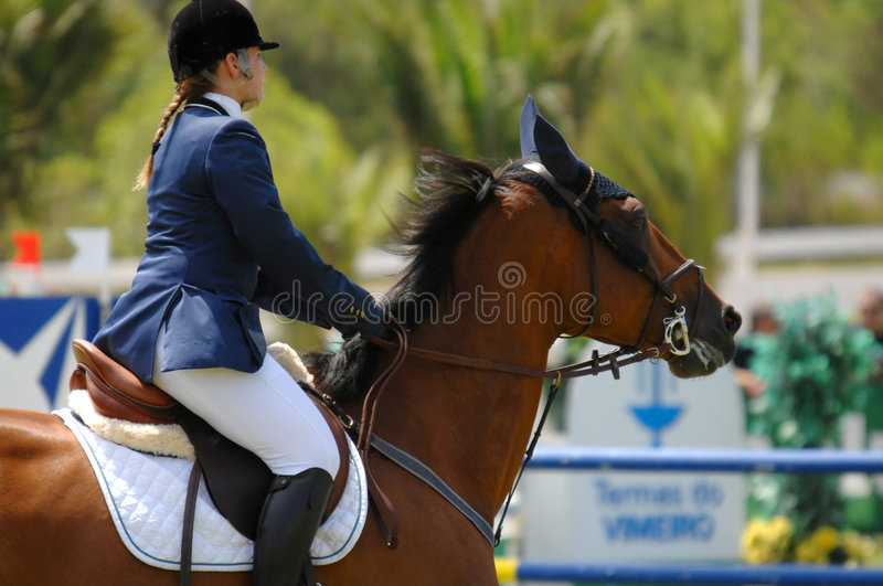 Download Equestrian Show Jumping editorial image. Image of jump - 5907650