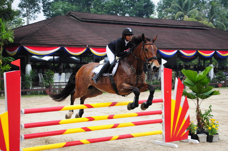 Download Equestrian Showjumping 3Q Classic Editorial Stock Photo - Image: 25506248