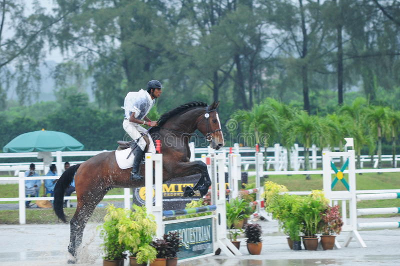 Download Equestrian Showjumping - STC Horse Show 2013 Editorial Photo - Image: 34841791