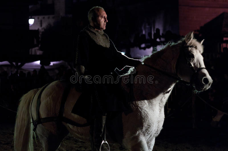 Download Equestrian Tournament Between Knights Editorial Photography - Image: 23770772
