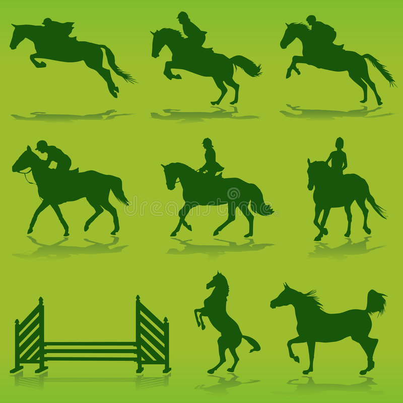 Download Equestrian vector stock vector. Image of clip, ranch, cowboy - 6788378