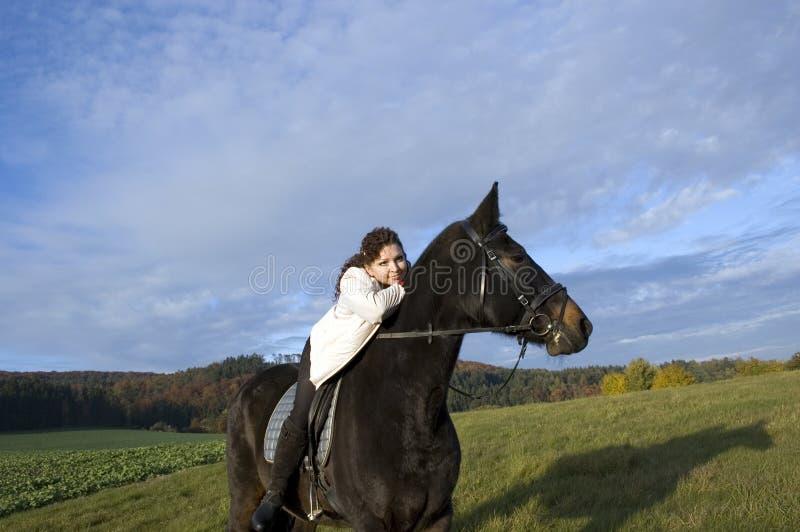 equestrienne koń fotografia royalty free