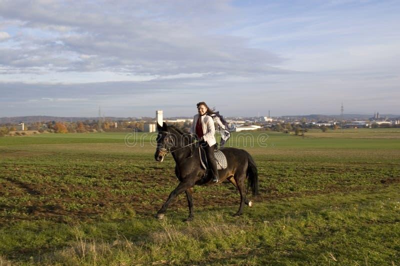 equestrienne przejażdżki zdjęcie royalty free