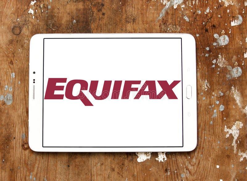 Equifax firmy logo obraz royalty free