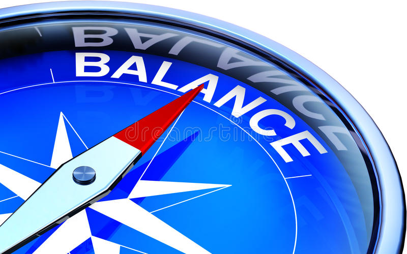 Equilíbrio ilustração do vetor