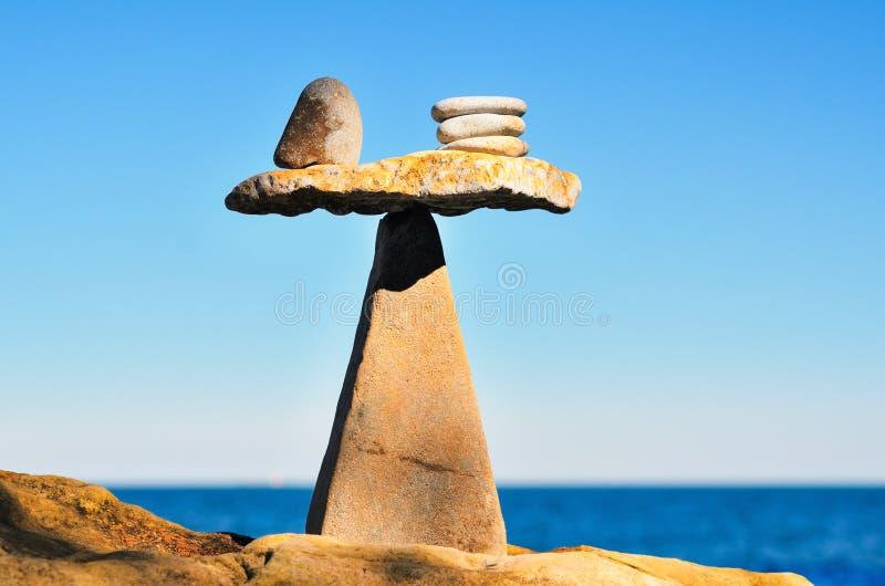 equilibration royaltyfri fotografi